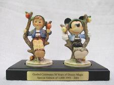 Goebel M I Hummel Walt Disney World Mickey Mouse 50 Years On The Apple Tree