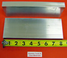 "2 Pieces 3/4"" X 3"" ALUMINUM 6061 FLAT BAR 8"" long .750"" Plate NEW Mill Stock"