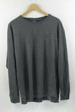 ATHLETIC SPORT Mens RALPH LAUREN T Shirt Long Sleeve CLASSIC Fit Grey Large P36