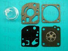 RX-1 RUIXING H142 Carby Kit & Primer Bulb Fits Ryobi RLT30CD, RLT30CDN, Homelite