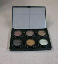 BOBBI BROWN 6 Pan Empty Mirrored Refillable Eyeshadow/Blush Palette ROUND INSERT