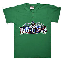 Lakewood Blue Claws Minor League Baseball Youth Henley Shirt New S, M