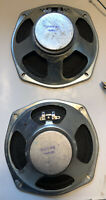 """Vintage 8"""" Speaker Pair 57075-001 8ohm *See Embedded Video*"""