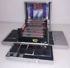 Jakks WWE Micro Aggression Playset with wrestling ring, figures and accessories