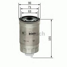 ENGINE FUEL FILTER OE QUALITY REPLACEMENT BOSCH 1457434439