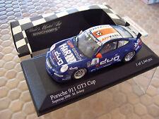PORSCHE SUPERCUP 2006 911 997 GT3 CUP RACE CAR 1:43rd MINICHAMPS SCHREY NIB
