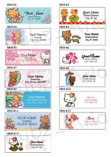Hello Kitty Hawaii Address Labels 30 Per Sheet 13 Designs To Choose From