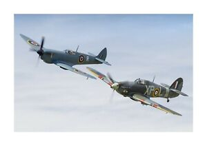 Spitfire & Hurricane 1 A4 photograph picture poster choice of frame