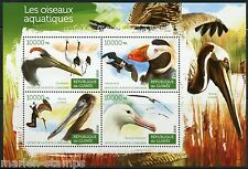 GUINEA 2015 AQUATIC BIRDS  SHEET   MINT NEVER HINGED