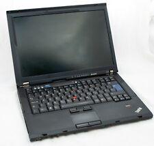 Lenovo ThinkPad T400 Intel Core 2 Duo 3 GB Ram 500 GB SSD Windows 10 WIFI LAPTOP