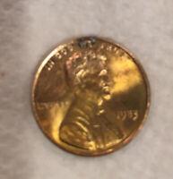 1983 Transitional Licoln Cent Error Coin