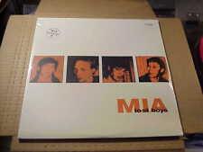 LP:  M.I.A. - Lost Boys  2xLP  NEW SEALED ORANGE VINYL