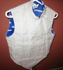 Uhlmann Fencing Metal Mesh Conductive Vest Size 170 Youth -Barely Used Condition