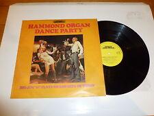 HAMMOND ORGAN DANCE PARTY - Big Jim H and his nem of Rhythm play - UK vinyl LP