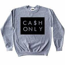 Cash Only Crewneck 4 Retro Air Jordan 11 Infrared 23 cobalt cool grey 12 unc 4 6