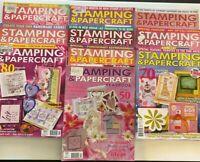 10 Lot Australian Stamping & Papercraft Magazines