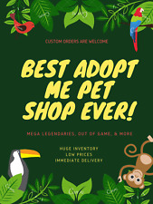 ✨Mega Neon MFR NFR FR Fly Ride✨ Pets Compatible With Adopt Me Pet SALE ✨ CHEAP ✨