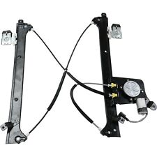 Power Window Regulator w/ Motor Rear Driver Side Left Lh for Chevy Gmc Cadillac