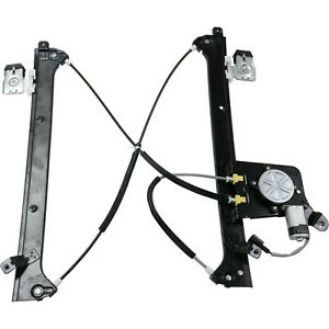 BOXI Front Left Driver Side Power Window Regulator with Motor for Chevrolet Silverado Tahoe GMC Yukon XL Sierra Escalade Pickup Truck SUV 2002-2006 Replace OE Parts No. 15077853 19120846