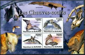 BURUNDI 2011 MNH SS, Bat, Flying Mammals,
