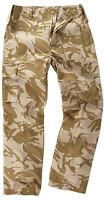 Men's Bdu Military Army Combat Cargo Desert Camo Work Trousers M65 Pants 28-46