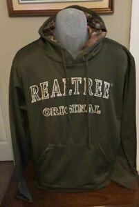 Realtree Camo Green Ranger Camo Pullover Hoodie Size M NWT
