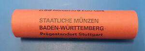 """5 cent Rolle Deutschland 2016 """" F - Stuttgart"""