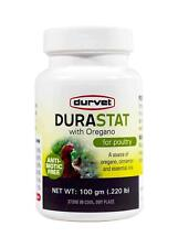 Durvet Durastat With Oregano For Poultry Antibiotic free 100GM