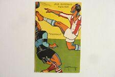 """CPA - JEUX OLYMPIQUES PARIS 1924 -"""" FOOTBALL """" Réf/ E /07"""