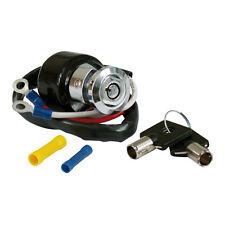 Zündschloß, runder Schlüssel Chrom, für Harley - Davidson Dyna 91-93