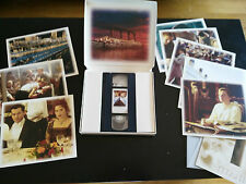 TITANIC LEONARDO DICAPRIO VHS COLECCIONISTA EDICION ESPECIAL FOTOS Y FOTOGRAMA