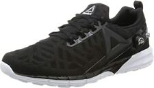Reebok Mens Gents Lace Up Black Mesh Pump Fusion Running Shoes Trainers Size 8