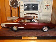 AMT '70 Dodge Super Bee Coronet Pro Street Detailed Trim Clean Build 1:25 Model
