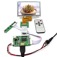 """HDM I Input LCD Controller Board With 5"""" 800X480 AT050TN43 LCD Screen"""