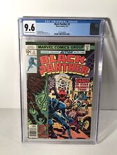 Black Panther #3 (1977) CGC Graded 9.6 Jack Kirby Frank Giacoia Marvel Comics