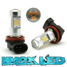 2x H11 LED 4G Nebelscheinwerfer Orange US Style Amber Ford Focus MK1 MK2