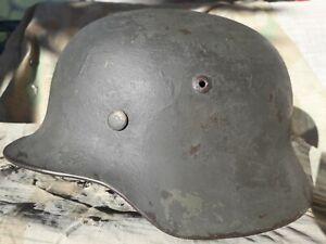 Casque Allemand M35 DAK German Camo helmet Recon Sudfront Stahlhelm ET68 Heer