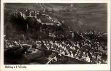 Harburg a.d. Wörnitz AK ~1940 Luftbild Fliegeraufnahme Schloß Burg Wohnhäuser