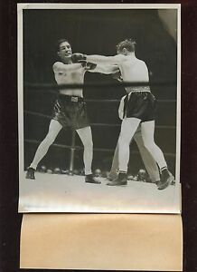 Original November 29 1940 Billy Conn vs Lee Savold 7 X 9 Boxing Wire Photo