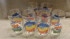 """6 Diet Pepsi Glasses """"You Got the right one Baby"""", Uh Huh, 1980's, Unused"""