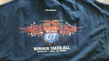 TNA 2007 Victory Road T-Shirt XL Wrestling Samoa Joe AJ Styles Sting PPV