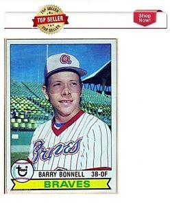 1979 Topps Barry Bonnell Atlanta Braves #496 Baseball Card