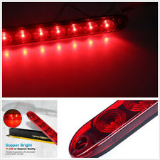 15'' Red 11 LED Stop Tail Turn Brake Light Bar For Trailer Truck RV Waterproof