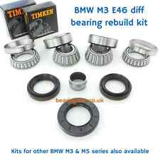 BMW M3 E46 S54 rear differential rebuild kit diff bearings & oil seals