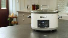 Crock-Pot Duraceramic Csc026X - Olla de cocción lenta 5 L Horno lavavajillas NEW