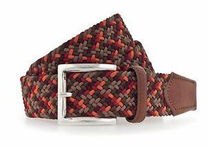 b.belt Luca Stretch Belt W105 Gürtel Accessoire Baileys - Red Braun Rot Neu