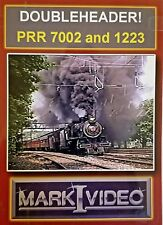 Mark I Video - DOUBLEHEADER! - PRR 7002 and 1223 - DVD