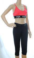 Victoria's Secret VSX Sports Bra & PINK Ultimate Yoga Crop Capris Lot M