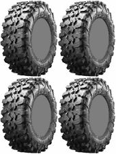 Four 4 Maxxis Carnivore ATV Tires Set 2 Front 28x10-14 & 2 Rear 28x10-14