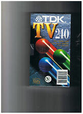 TDK - TV - 240 - VHS - Leerkassette -- 4 hours - FOR DAILY USE   -
